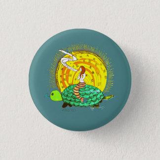 Badge Rond 2,50 Cm Sirène de chant