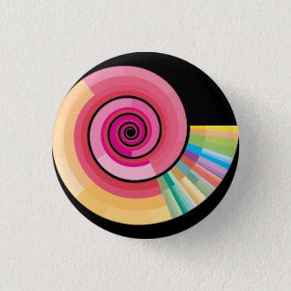 Badge Rond 2,50 Cm Spirale géologique de calendrier