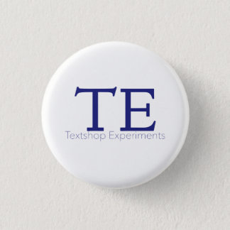 Badge Rond 2,50 Cm Textshop expérimente bouton