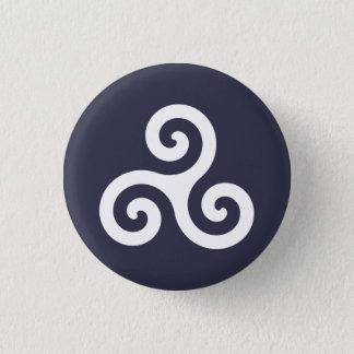 Badge Rond 2,50 Cm Triskele