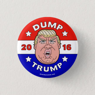 Badge Rond 2,50 Cm Videz l'atout, bouton de l'atout 2016
