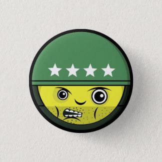 Badge Rond 2,50 Cm Visage de soldat