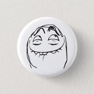Badge Rond 2,50 Cm Visage riant Meme comique de rage de PFFTCH