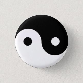 Badge Rond 2,50 Cm Yin Yang