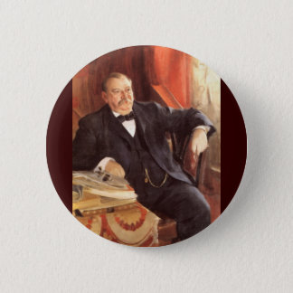 Badge Rond 5 Cm 24 Grover Cleveland1
