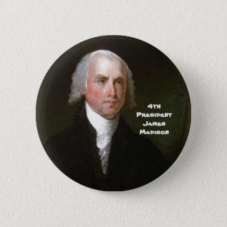 Badge Rond 5 Cm 4ème Pres. James Madison