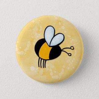 Badge Rond 5 Cm abeilles d'amour de paix