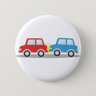 Badge Rond 5 Cm Accident de voiture