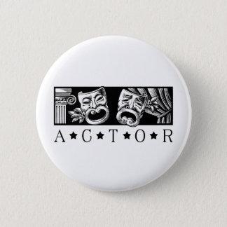 Badge Rond 5 Cm Acteur classique