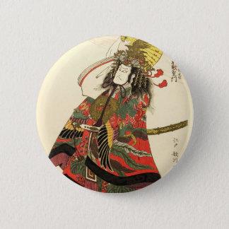 Badge Rond 5 Cm Acteur japonais en tant que leader militaire
