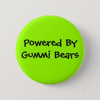Badge Rond 5 Cm Actionné par, ours de Gummi