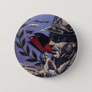Badge Rond 5 Cm Affiche originale 1936 FAI de guerre civile