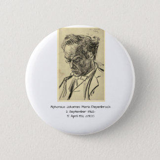 Badge Rond 5 Cm Alphons Johannes Maria Diepenbrock 1900