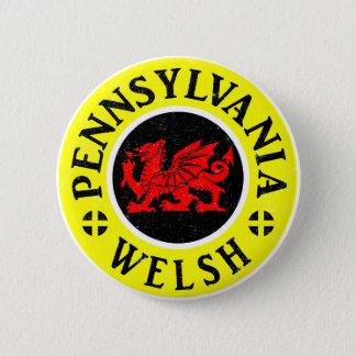 Badge Rond 5 Cm Américain de la Pennsylvanie Gallois