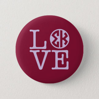 Badge Rond 5 Cm Amour de Kappa de sigma
