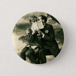 Badge Rond 5 Cm Amour sexy de couples de Pin- de cru de secrets