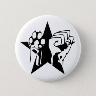 Badge Rond 5 Cm Animal Liberation Button