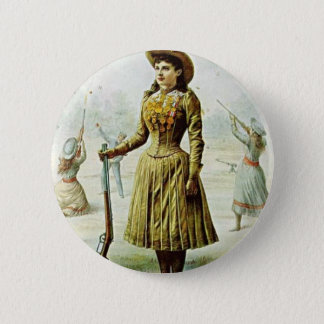 Badge Rond 5 Cm Anne Oakley