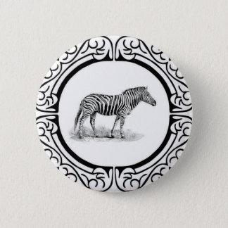 Badge Rond 5 Cm anneau du zèbre