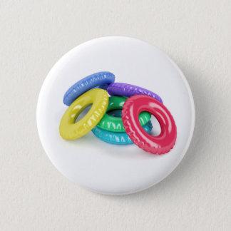 Badge Rond 5 Cm Anneaux colorés de bain
