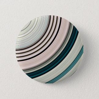 Badge Rond 5 Cm Anneaux verts abstraits