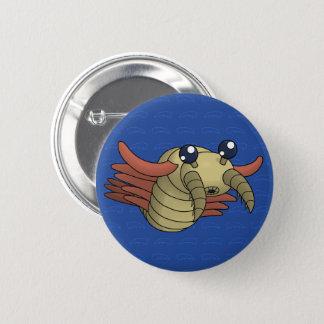 Badge Rond 5 Cm Anomalocaris la crevette peu commune