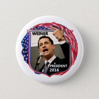 Badge Rond 5 Cm Anthony Weiner pour le président 2016