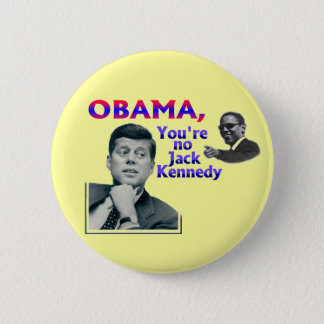 Badge Rond 5 Cm Anti-Obama