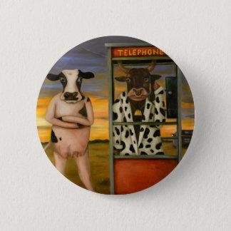 Badge Rond 5 Cm Appel de bétail