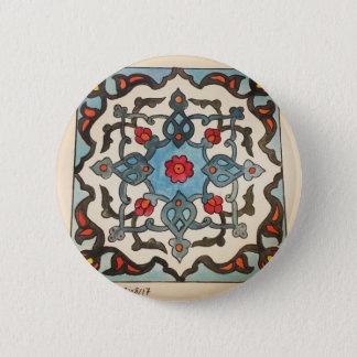 Badge Rond 5 Cm aquarelle