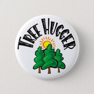Badge Rond 5 Cm Arbre Hugger
