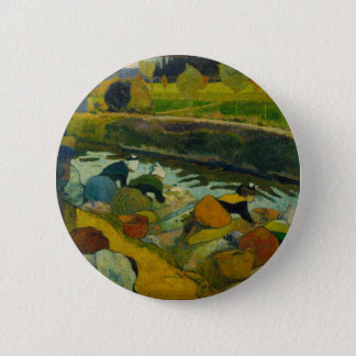 Badge Rond 5 Cm art de Paul Gauguin