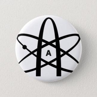 Badge Rond 5 Cm Atome athée