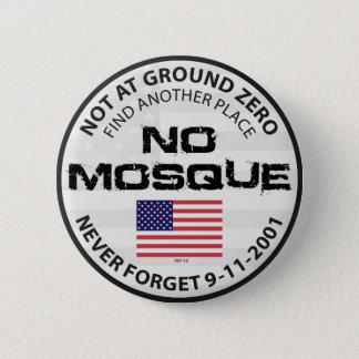 Badge Rond 5 Cm Aucune mosquée à point zéro