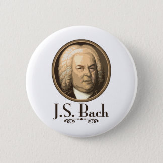 Badge Rond 5 Cm Bach