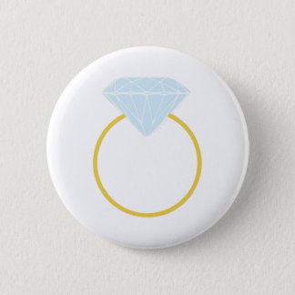 Badge Rond 5 Cm Bague à diamant