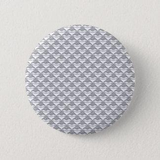 Badge Rond 5 Cm Bague à diamant de platine