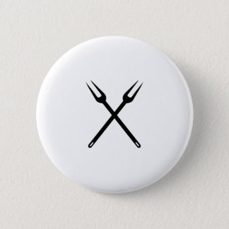 Badge Rond 5 Cm barbecue