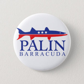 Badge Rond 5 Cm Barracuda de Sarah Palin