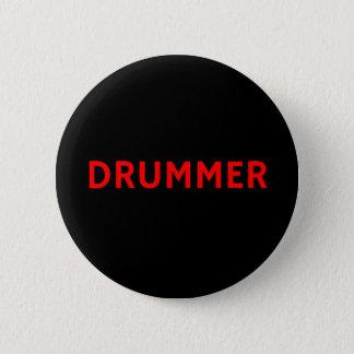Badge Rond 5 Cm Batteur - bande/insigne de Pin bouton de musique