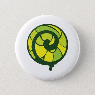 Badge Rond 5 Cm Bio mouvement giratoire