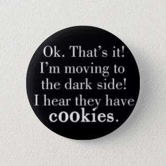 Badge Rond 5 Cm biscuit