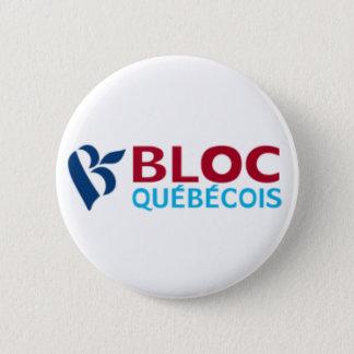 Badge Rond 5 Cm Bloc Québécois