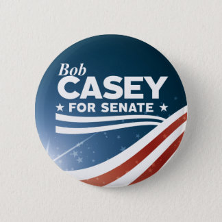Badge Rond 5 Cm Bob Casey pour le sénat