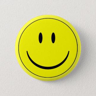 Badge Rond 5 Cm Bottin souriant de visage