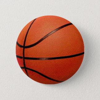 Badge Rond 5 Cm Boule de basket-ball