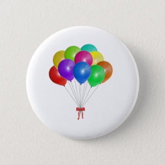 Badge Rond 5 Cm Bouquet de ballon