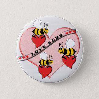 Badge Rond 5 Cm Bourdonnement d'amour