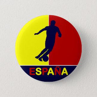 Badge Rond 5 Cm Bouton 2010 du football d'Espana Espagne