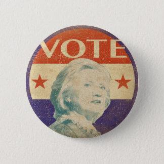 Badge Rond 5 Cm Bouton 2016 d'élection de Hillary Clinton
